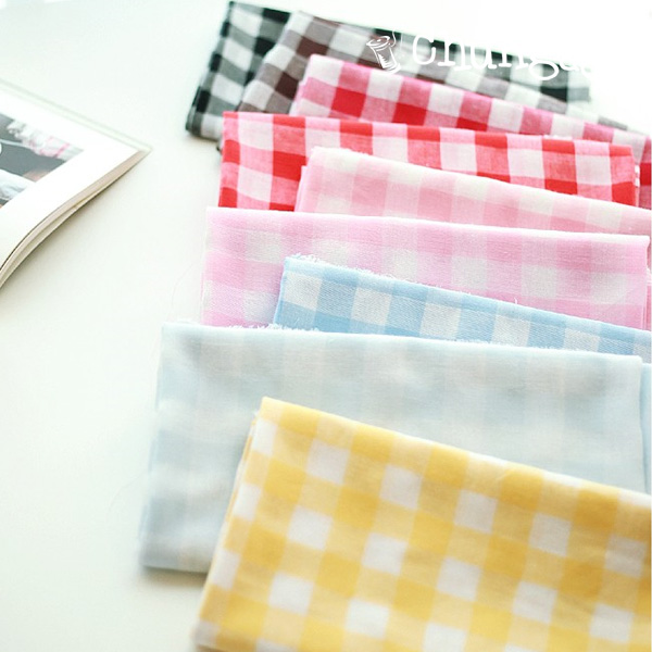 30 water gauze) Dye 20mm simple check (9 kinds)