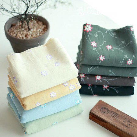 Large-linen cotton linen) Foamed chlor-flower (8 kinds)