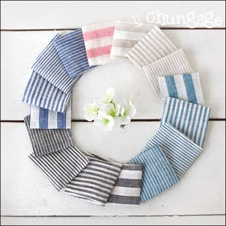-Linen) Pure Stripe (22 species)