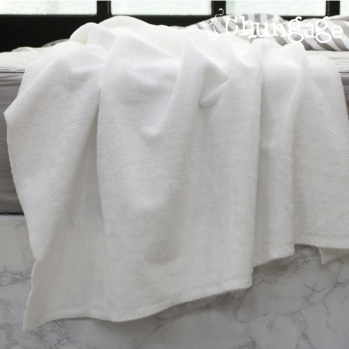 5mm ultra-fine fabrics, mink extreme luxury) White (plain)