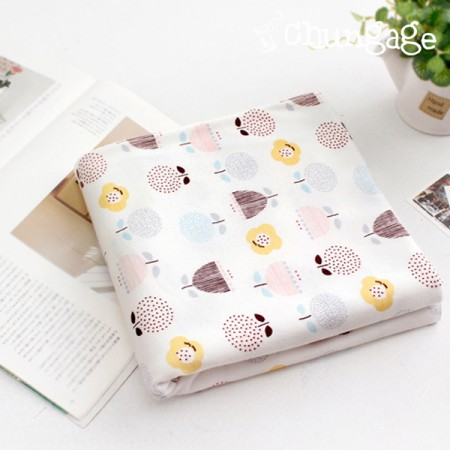 Large -40 water double-sided daimaru) cotton flower