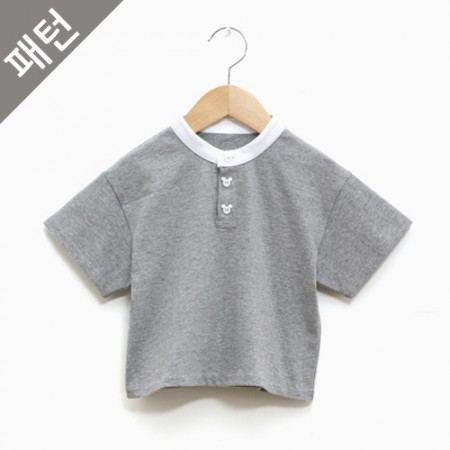 Patterns-Children) Children T-shirt [p1089]