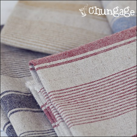 Ham linen) Multi-stripe (4 kinds)