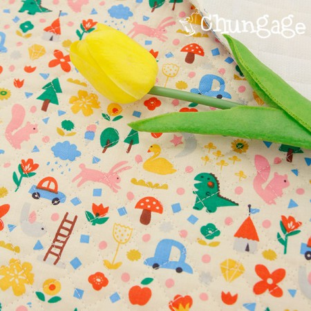 Cotton 20 Horizontal Straight Nozzle Fabric) Dreamland