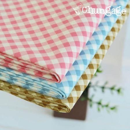 30 cotton) Fresh check (3color)
