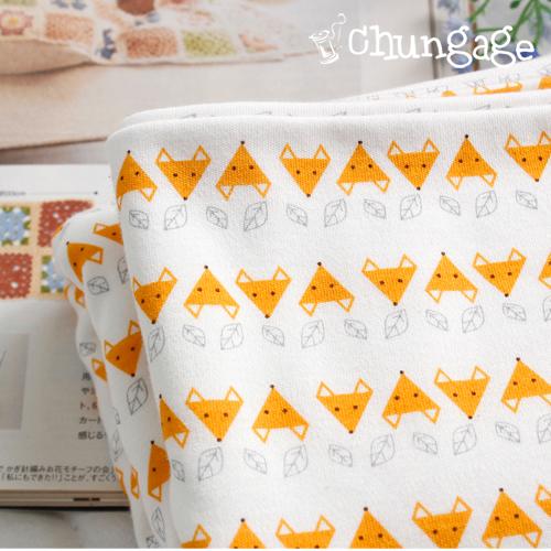 Largely organic double-sided Daimaru mini-fox
