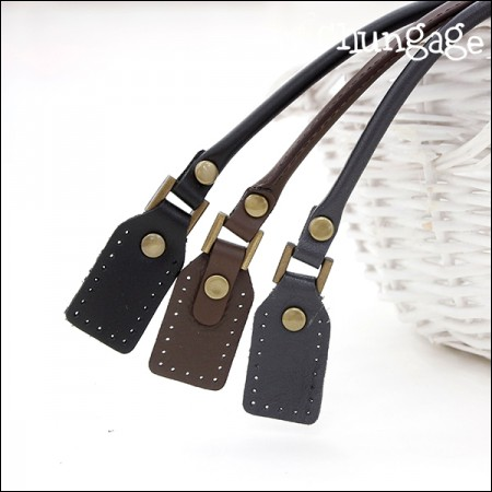 Bag Handle Leather Handle Modern Handle [2172] (3 types)