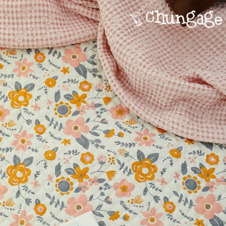 Cotton 20 Horizontal Straight Nouveau Fabric) Pre-muller