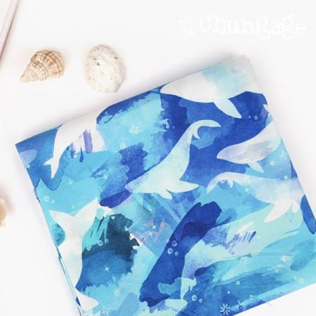 Best DTP20 woven fabric) Ocean Abyss