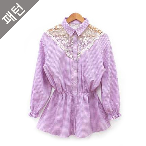 Patterns- women) Women's blouse [P295]
