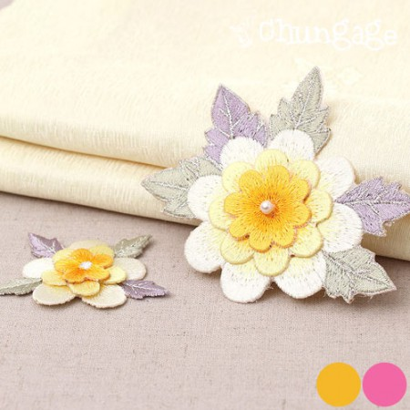 Hanbok supplementary material plum embroidery embroidery (two kinds)