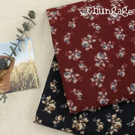 Large-sized brushed fabric) Dusty Rose (2 kinds)