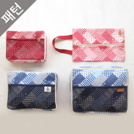 Bag Pattern Travel Pouch [P909]