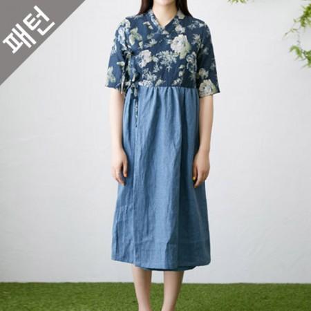 Apparel pattern costume pattern Women's Hanbok [P1121]