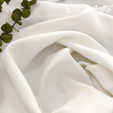 Polo Dobby Fabric) Glossy White