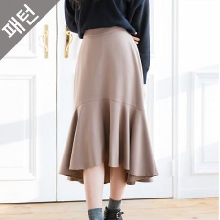 Apparel pattern costume pattern Women's skirt [P975]