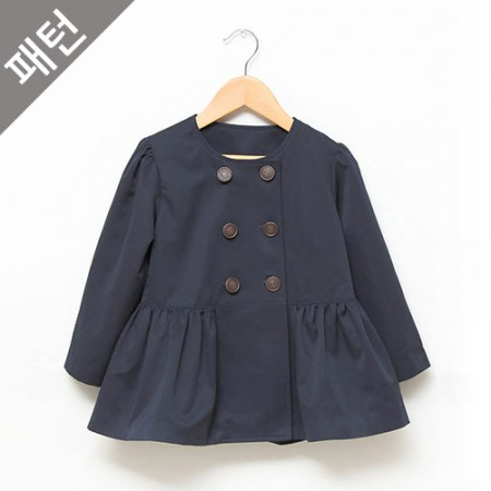 Apparel pattern costume pattern Children's coat [P474]