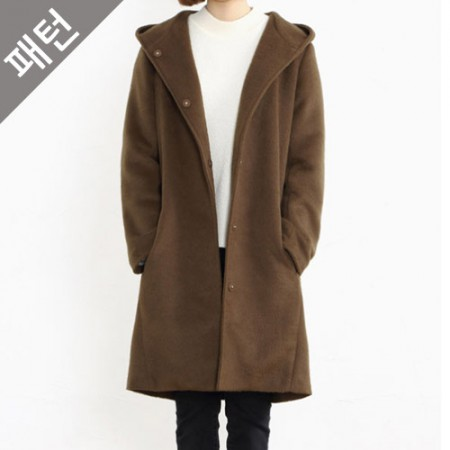 Clothing pattern costume pattern female coat [P827]