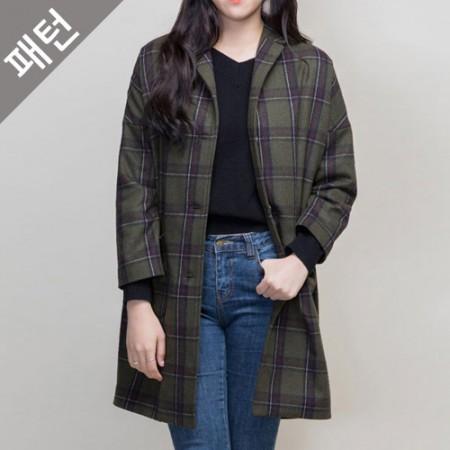 Apparel pattern costume pattern Women's coat [P977]