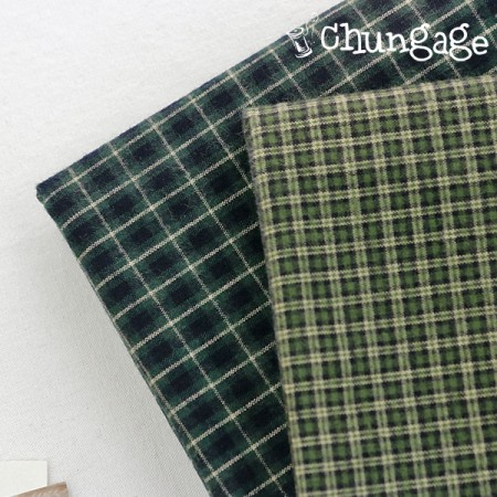 (20 kinds of washings) Green check (2 kinds)