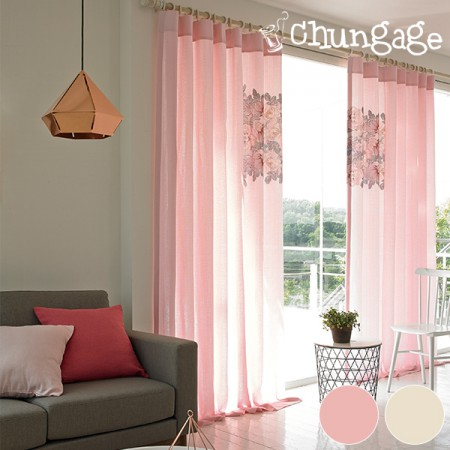 270cm long curtain DTP drape curtain) Soprano (2 kinds)