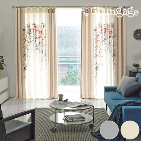 -270cm long curtain curtain DTP curtain) Eco (two species)