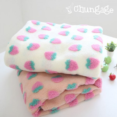 Large - brushed knit jacquard) Berryberry (two kinds)