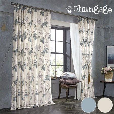 Wide - Pre-dyed curtain curtain paper) Flash (2 kinds)