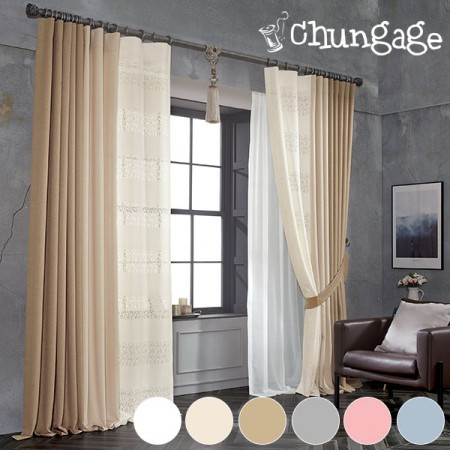 Large - curtains) Handel (6 kinds)