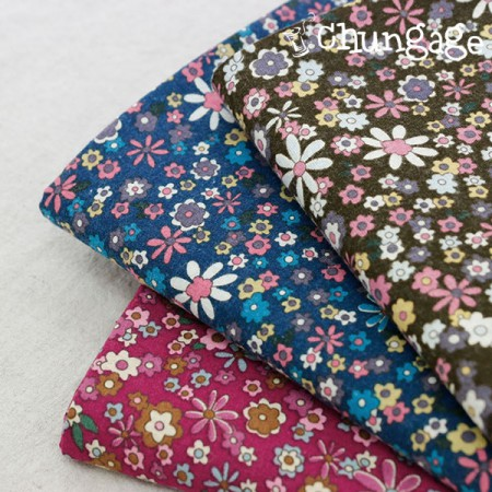Large-size brushed fabric) Ani flower (3 kinds)