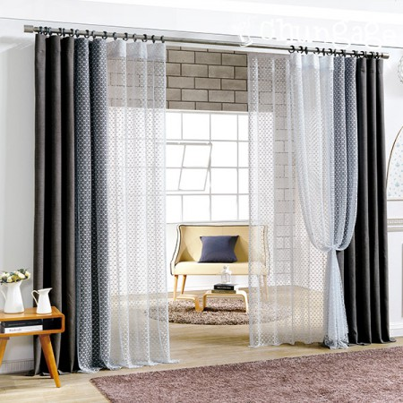 Wide-curtains) Castel mesh