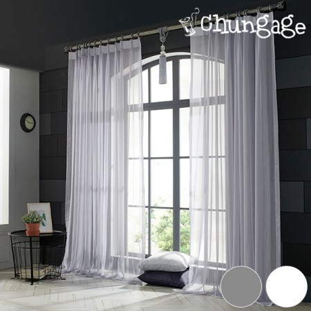 Wide-Curtain) Chiffon (2 kinds)