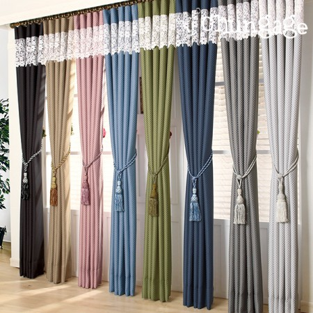 Large-dark curtains) Deco plain (8 kinds)