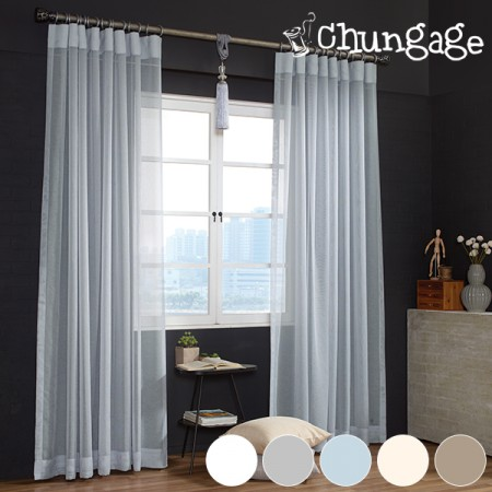Wide-curtains) Crayons (5 types)