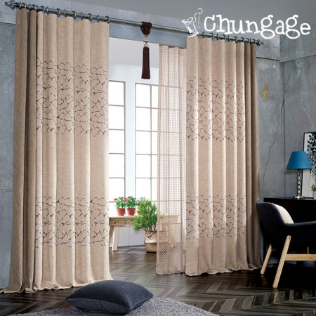 Wide-curtains) Lawrence embroidery