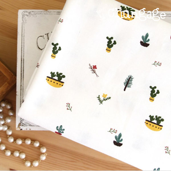The finest DTP20 woven cloth) Cactus pot