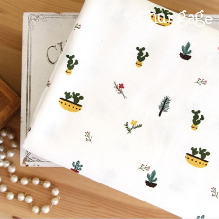 The finest DTP20 woven cloth) Cactus pot