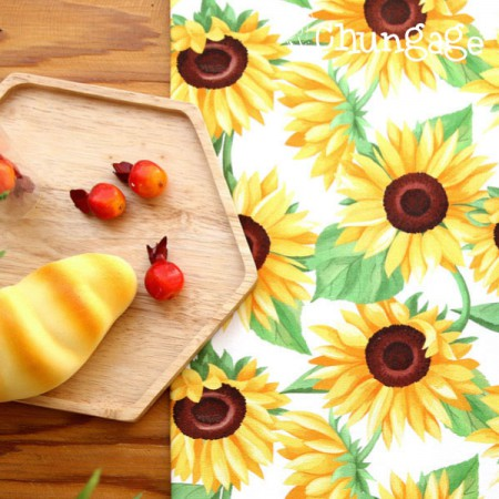 Top grade DTP20 woven woven) Romantic sunflower