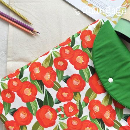 Top grade DTP20 woven woven) Romantic camellia