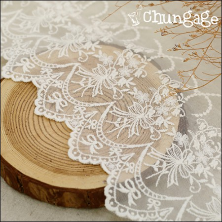 Mesh lace R052 Angel bouquet (two species)
