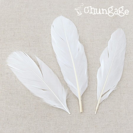 Feather Soft Angels Wing Feather White