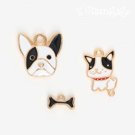 Charming Hay Bulldog Charming Set