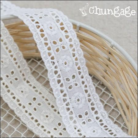Cotton lace cotton 072 Violet tape both sides race (three kinds)