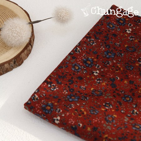 Large-size brushed fabric) Bloom [A-468]