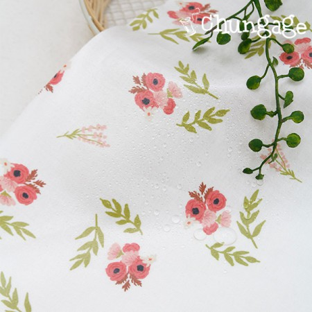 Waterproof fabric Non-toxic TPU laminate cloth) Polyne leaf