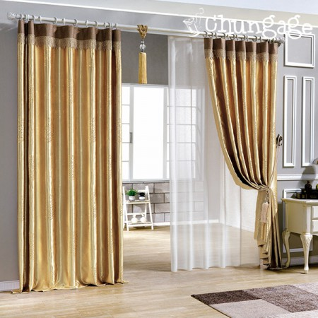 Wide - Pearl embossed curtain curtain) Maldives (2 kinds)