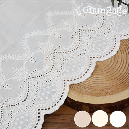 Cotton Lace R053 Oriental Flower (3 species)