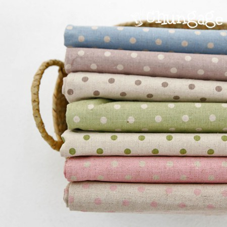 Large -11 number of linen) Natural dot (7 kinds)
