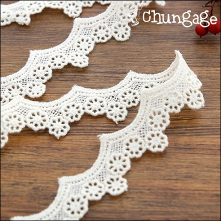 Chemical Lace Chemical 048 Lotus Flower Skirt Natural