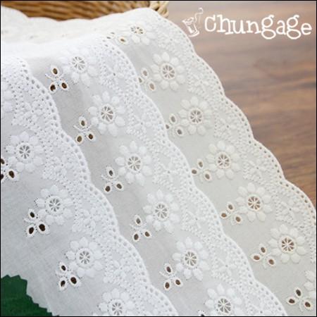 Cotton Lace 073 Windmill Flower (3 species)